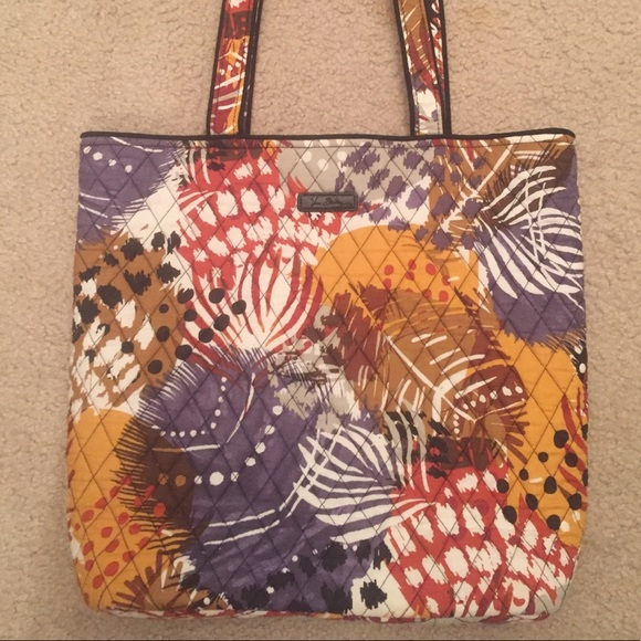 2b3e16be86 Painted Feathers Tote. M 5ab09271077b976d0e99390e. Other Bags you may like. Vera  Bradley ...